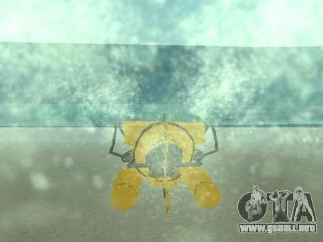 Sumergible de GTA V para visión interna GTA San Andreas