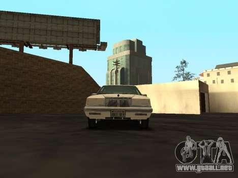 Chrysler New Yorker 1988 para visión interna GTA San Andreas