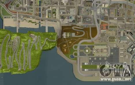 Stelvio Pass Drift Track para GTA San Andreas sucesivamente de pantalla