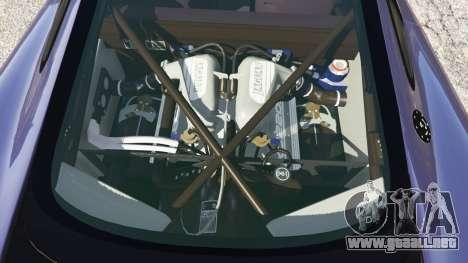 GTA 5 Jaguar XJ220 v0.9 vista lateral derecha
