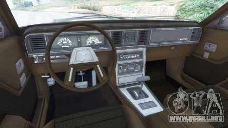 GTA 5 Ford LTD LX 1985 vista lateral derecha
