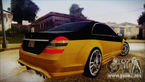Carlsson Aigner CK65 RS v2 para GTA San Andreas left