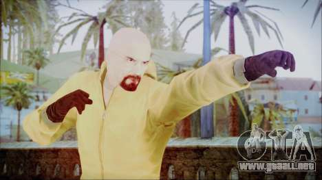 Walter White Breaking Bad Chemsuit para GTA San Andreas