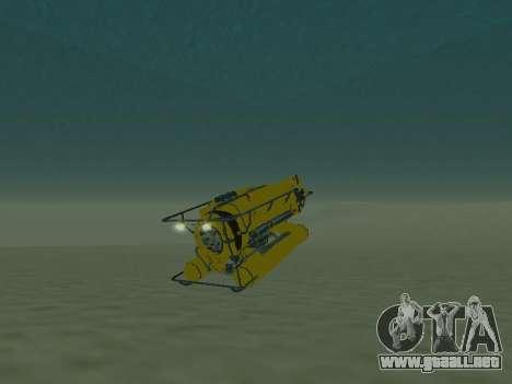 Sumergible de GTA V para GTA San Andreas