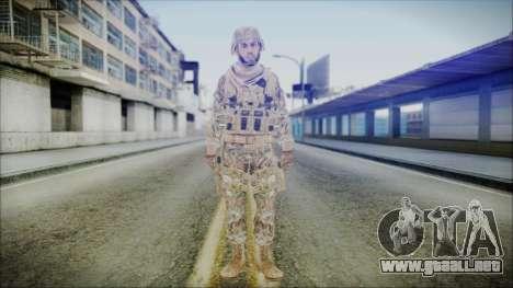 CODE5 India para GTA San Andreas segunda pantalla