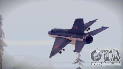 MIG-21MF URSS para GTA San Andreas left