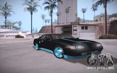 Elegy DRIFT KING GT-1 (Stok wheels) para GTA San Andreas