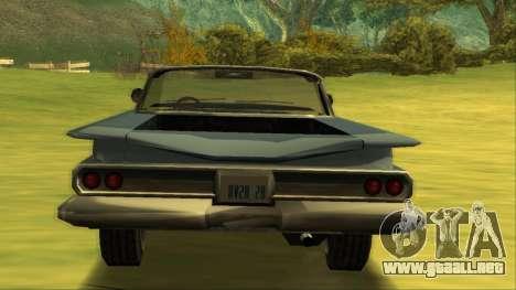 Voodoo El Camino v1 para la visión correcta GTA San Andreas