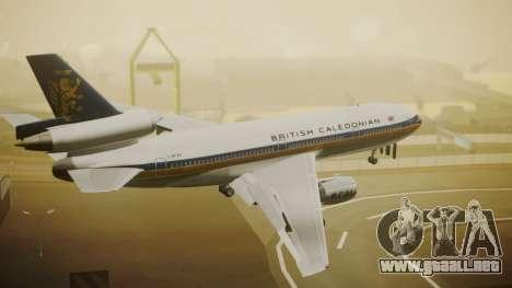 McDonnell-Douglas DC-10-30 British Caledonian para GTA San Andreas left