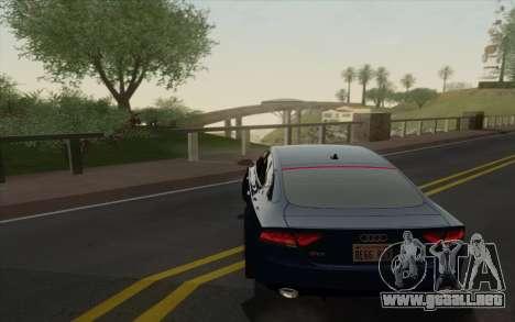 Amazing Graphics para GTA San Andreas segunda pantalla