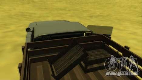 Voodoo El Camino v2 (Truck) para GTA San Andreas interior