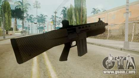 GTA 5 Combat Shotgun para GTA San Andreas tercera pantalla