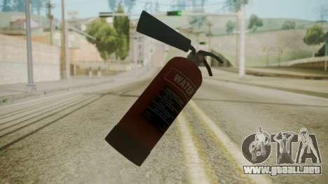 GTA 5 Fire Extinguisher para GTA San Andreas segunda pantalla