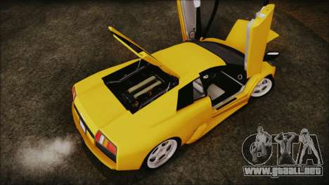 Lamborghini Murcielago 2005 Yuno Gasai IVF para visión interna GTA San Andreas