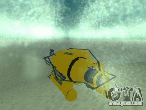 Sumergible de GTA V para GTA San Andreas vista hacia atrás