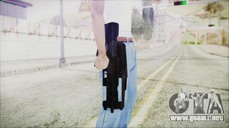 VA-1810X Sub Machine Gun para GTA San Andreas tercera pantalla