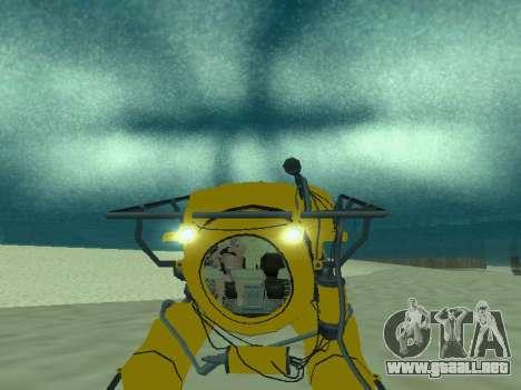 Sumergible de GTA V para la visión correcta GTA San Andreas
