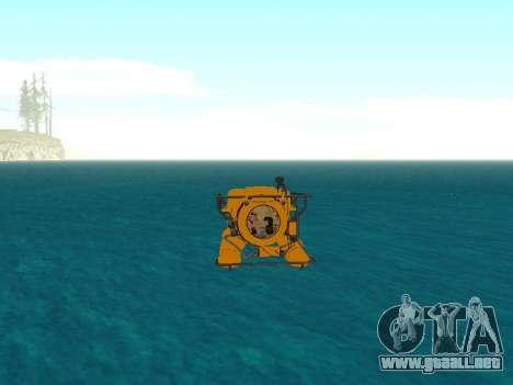 Sumergible de GTA V para la vista superior GTA San Andreas