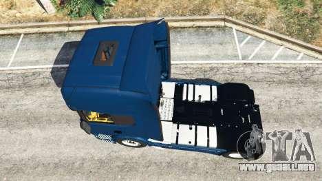 GTA 5 Scania R730 vista trasera