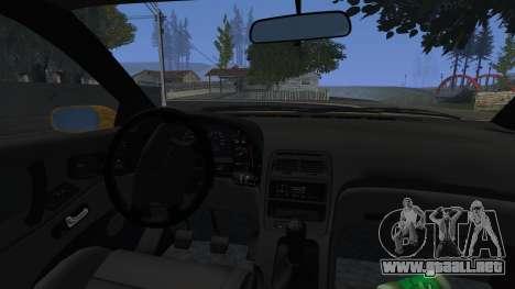 Nissan Fairlady Z Twinturbo 1993 para visión interna GTA San Andreas