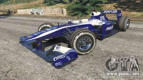 GTA 5 Williams FW32 vista lateral derecha