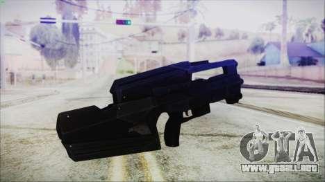 VA-1810X Sub Machine Gun para GTA San Andreas segunda pantalla