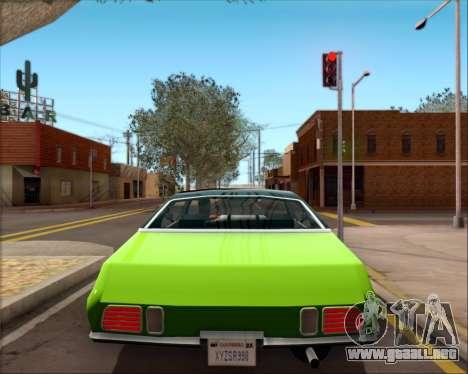 Clover Barracuda para visión interna GTA San Andreas