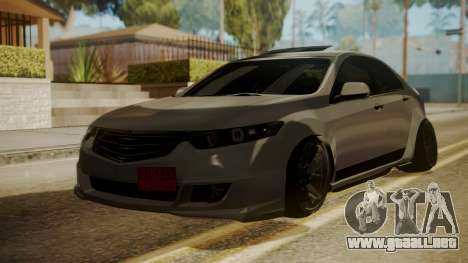 Honda Accord Type S 2008 RHBK para GTA San Andreas