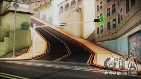 HD All City Roads para GTA San Andreas tercera pantalla