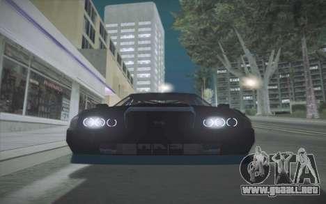 Elegy DRIFT KING GT-1 (Stok wheels) para GTA San Andreas vista posterior izquierda
