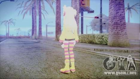 Spika [Pangya] para GTA San Andreas tercera pantalla
