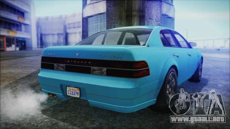GTA 5 Karin Intruder para GTA San Andreas left