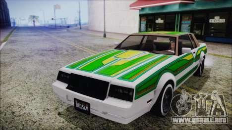 GTA 5 Willard Faction Custom para visión interna GTA San Andreas