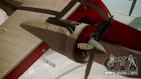 Grumman G-21 Goose VHIRM para la visión correcta GTA San Andreas