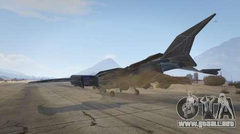 GTA 5 Batwing cuarto captura de pantalla