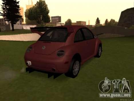 VW New Beetle 2004 Tunable para la visión correcta GTA San Andreas