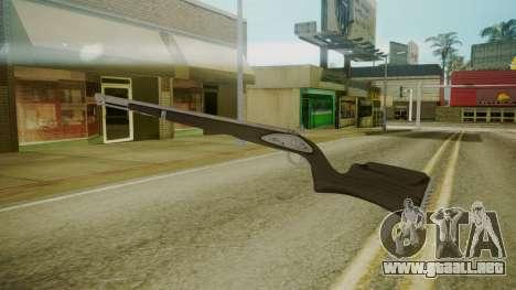 GTA 5 Rifle para GTA San Andreas tercera pantalla