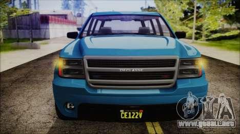 GTA 5 Declasse Granger FIB SUV IVF para la visión correcta GTA San Andreas