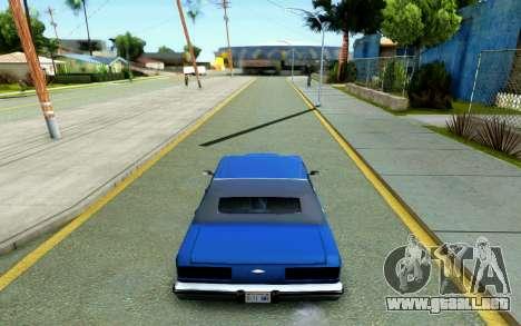 ENB for Medium PC para GTA San Andreas octavo de pantalla