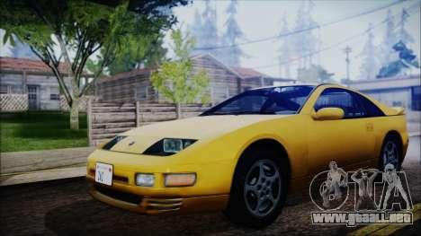 Nissan Fairlady Z Twinturbo 1993 para GTA San Andreas vista posterior izquierda
