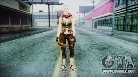 Mila Short Hair from Counter Strike para GTA San Andreas segunda pantalla