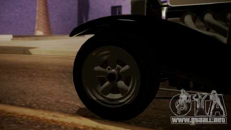 GTA 5 Albany Franken Stange IVF para GTA San Andreas vista posterior izquierda