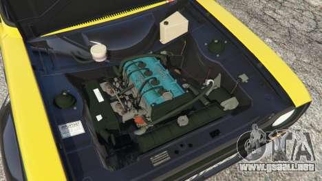 Ford Escort MK1 v1.1 [26] para GTA 5