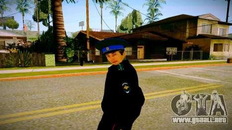 El empleado del Ministerio de Justicia v3 para GTA San Andreas segunda pantalla