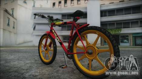 Mtbike HD para GTA San Andreas left