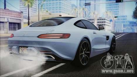 Mercedes-Benz AMG GT 2016 para GTA San Andreas left