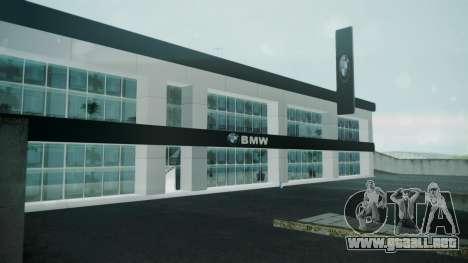 BMW Showroom para GTA San Andreas