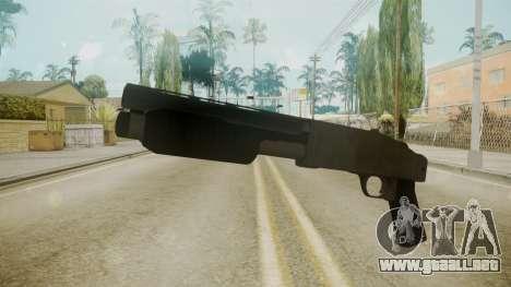 GTA 5 Sawnoff Shotgun para GTA San Andreas segunda pantalla