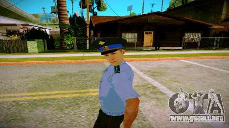 El empleado del Ministerio de Justicia v2 para GTA San Andreas segunda pantalla