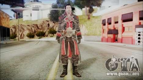 Shay Patrick Cormac - Assassins Creed Rogue para GTA San Andreas segunda pantalla